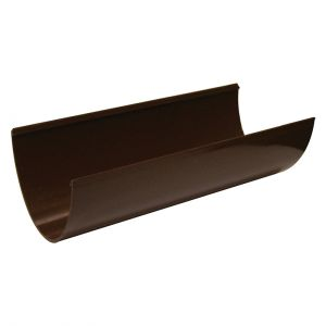 115mm Brown Hi Cap Guttering image