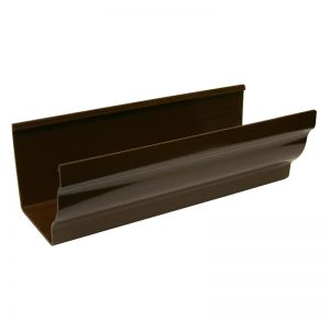 110mm Brown Ogee Guttering image