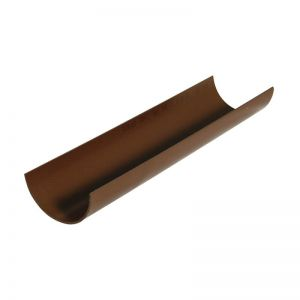76mm Brown Miniflo Guttering image