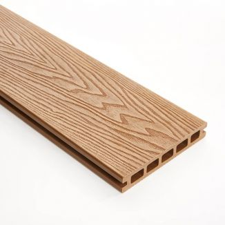 148mm Teak Double Faced WPC Decking 3m