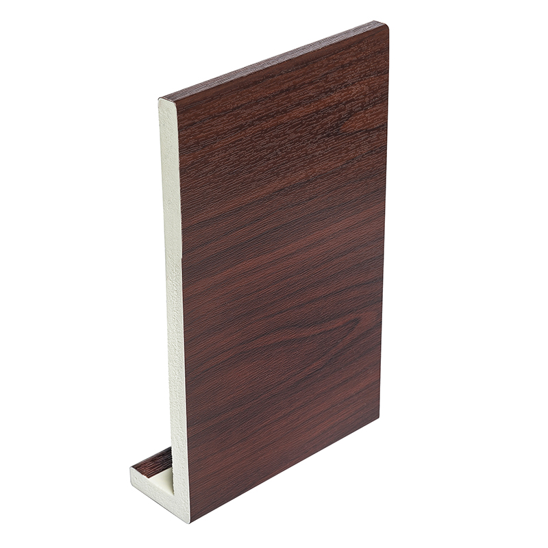 405mm x 9mm Rosewood Fascia Board 5m Double Ended image