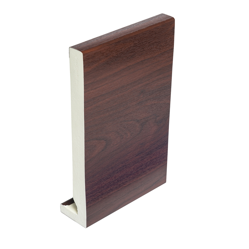 405mm x 16mm Rosewood Fascia Board 5m Double Ended image