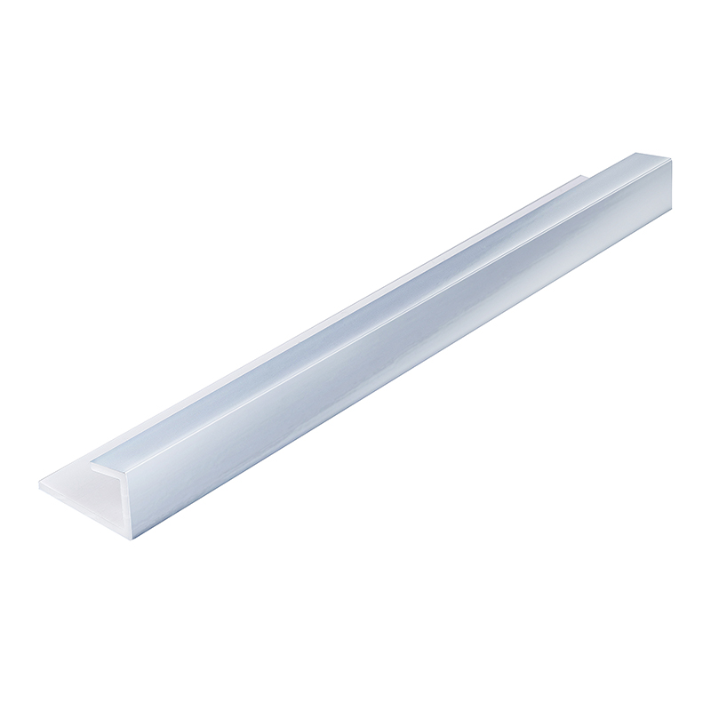 Silver 7.5mm Bathroom Panel End Cap 2.6m