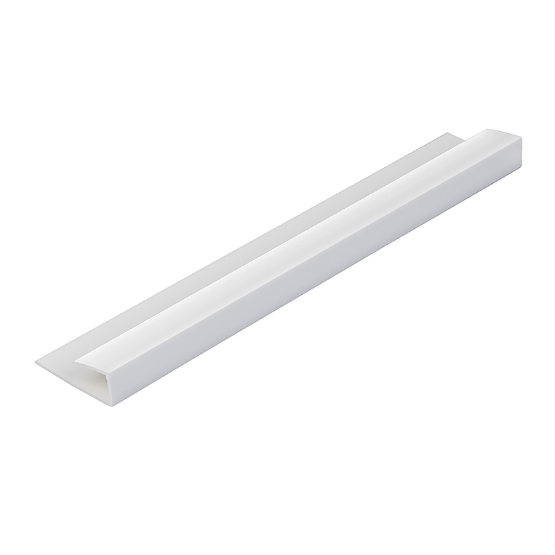 White 5mm Wall Panel End Cap 2.6m  image