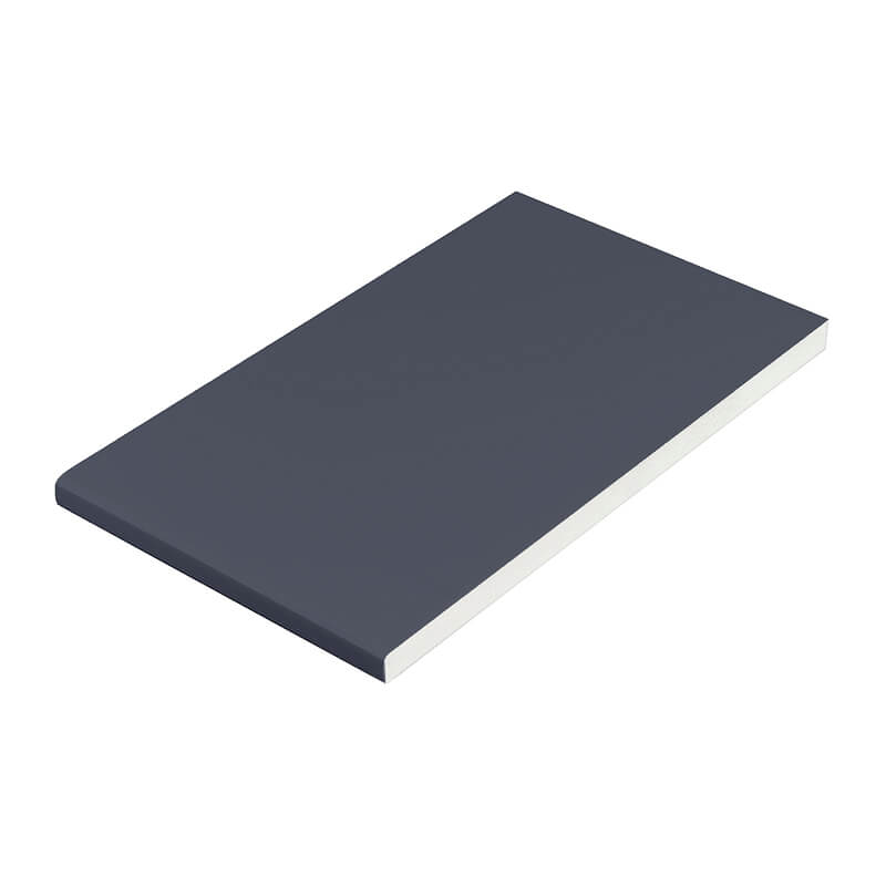 605mm x 9mm Plain Anthracite Grey Soffit Board 5m image