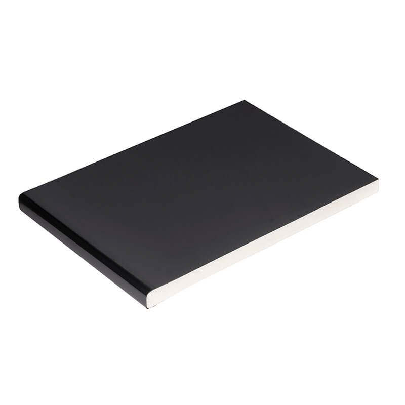 200mm x 9mm Plain Black Soffit Board 5m image