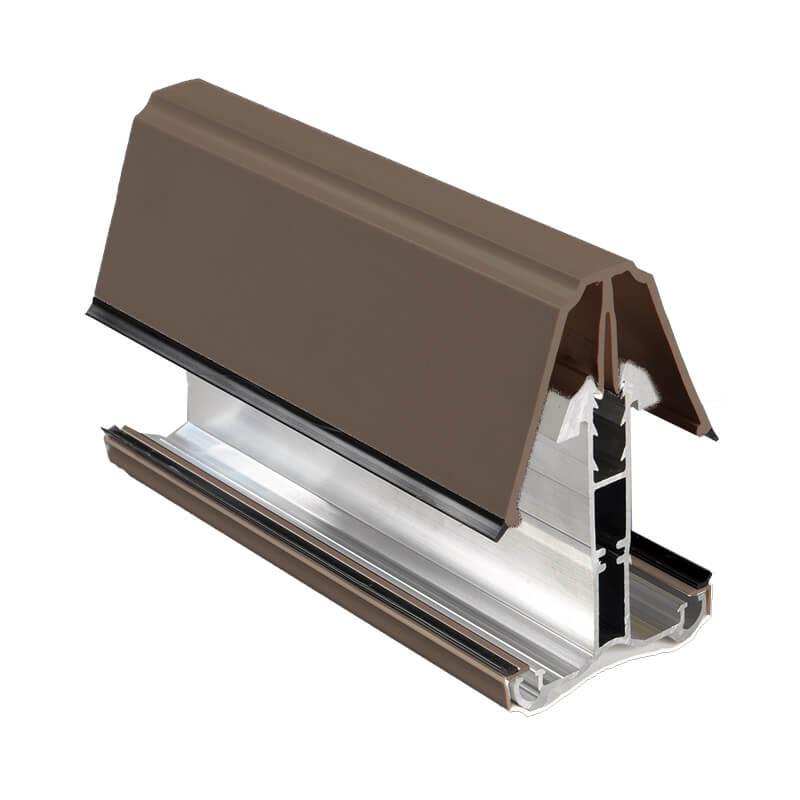 16,25,35mm Self Support Glazing Bar /& End Cap
