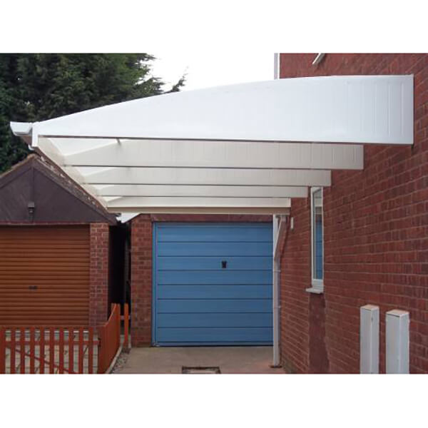 Cantilever Carport System 2.4m Projection x 12875mm Wide image
