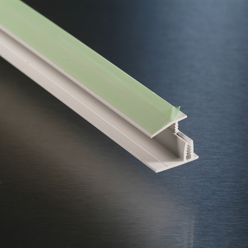 White Wall Cladding 2 Part Capping Strip 2.44m  image