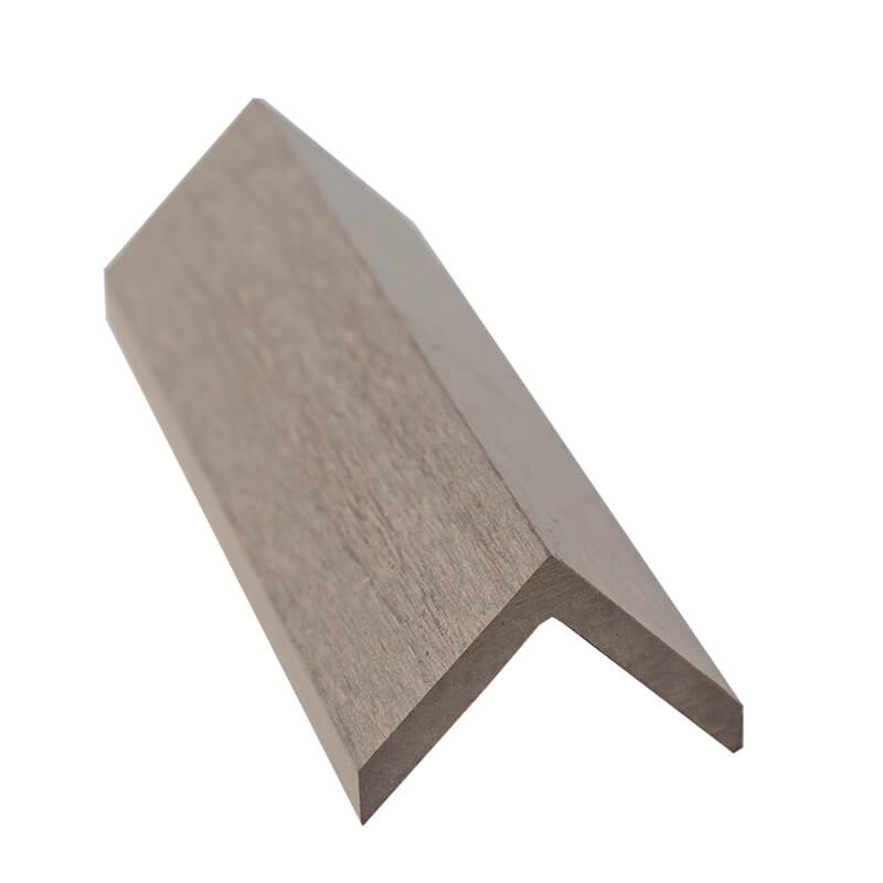 45mm x 45mm Natural WPC Angle Trim 5m  image