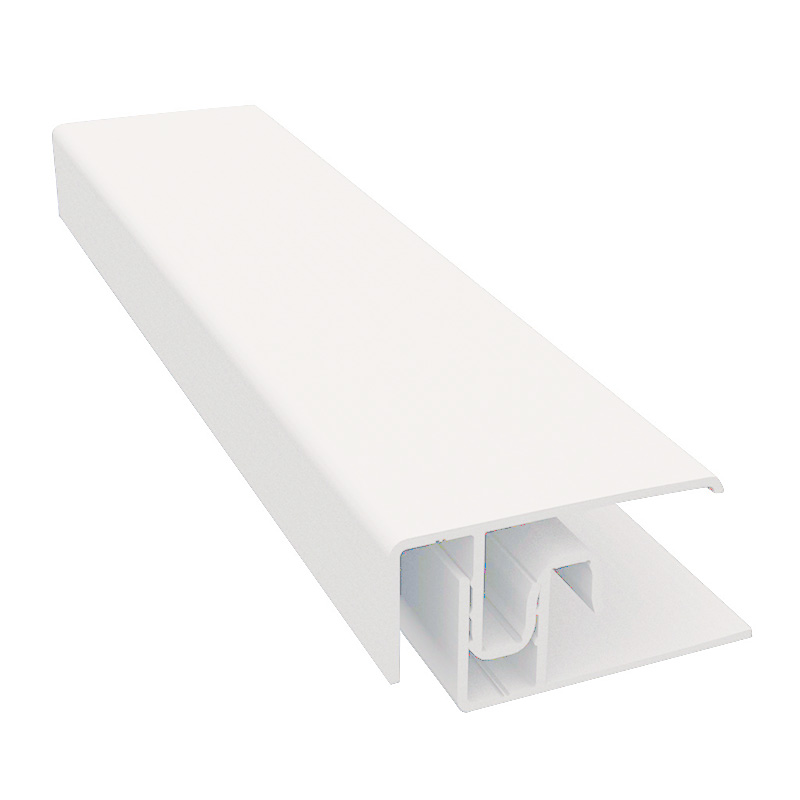 Durasid Cream Two Part Aluminium Edge Trim 3m image
