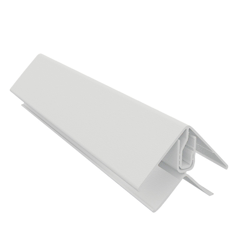 Durasid Grey Two Part Aluminium Corner Trim 3m image