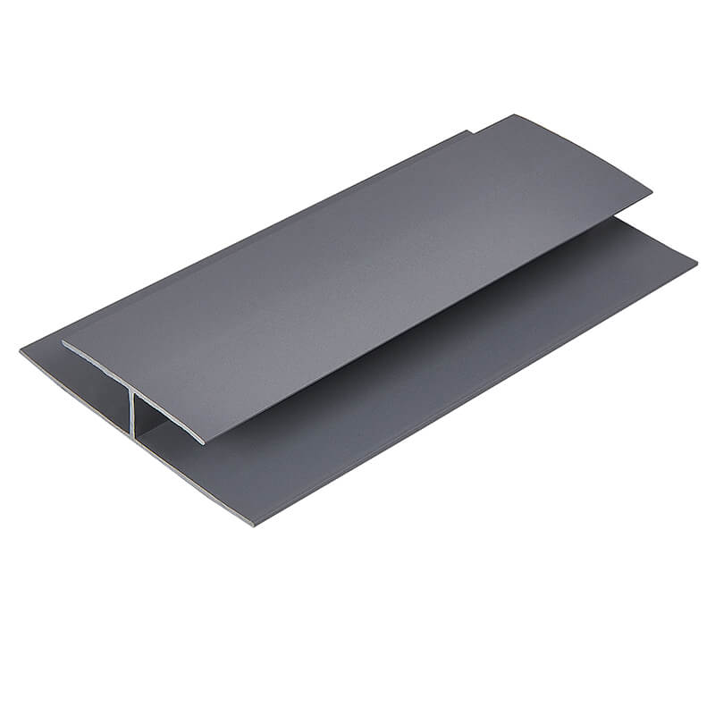 Hollow Soffit H Trim Hazy Grey 5m image