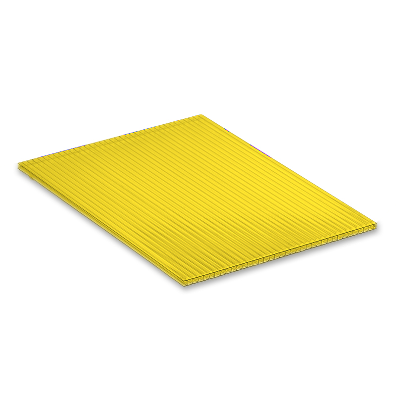 Yellow 4mm Fluted Polypropylene Display Board image