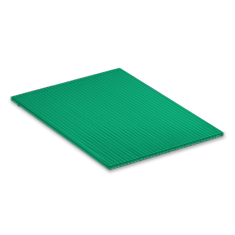 Green 4mm Fluted Polypropylene Display Board image