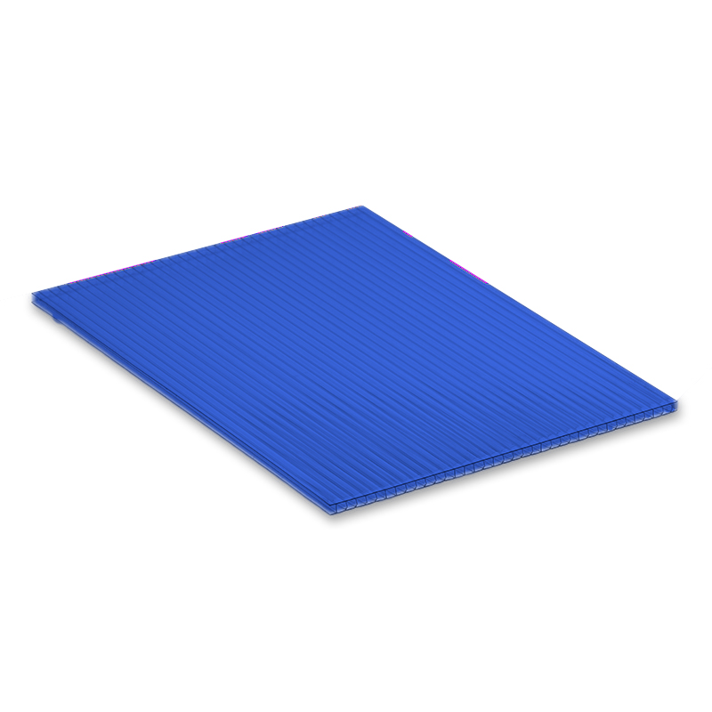 Blue 4mm Fluted Polypropylene Display Board image