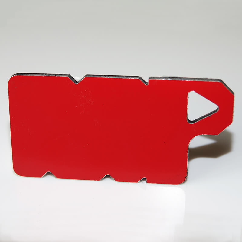 3mm Red RAL3020 Aluminium Composite Sheet image