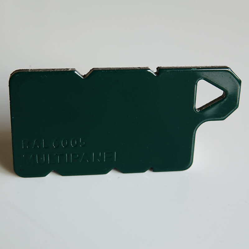 3mm Green RAL6005 Aluminium Composite Sheet  image