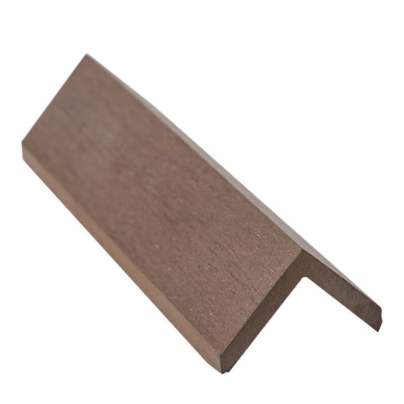 45mm x 45mm Brown WPC Angle Trim 3m  image