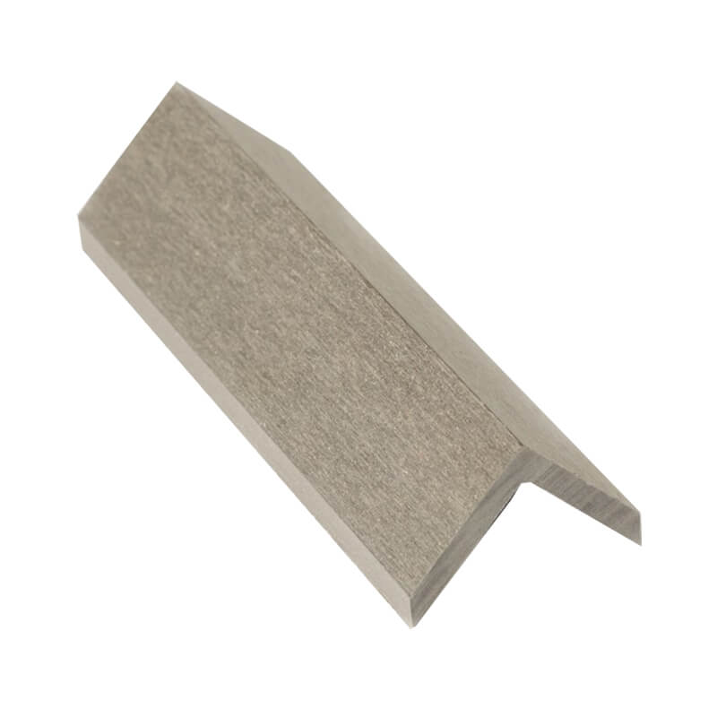 45mm x 45mm Grey WPC Angle Trim 3m  image