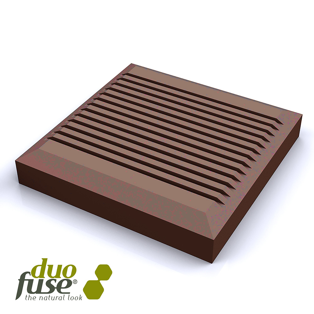Duofuse 110mm x 110mm Fencing Post Cap Tropical Brown  image