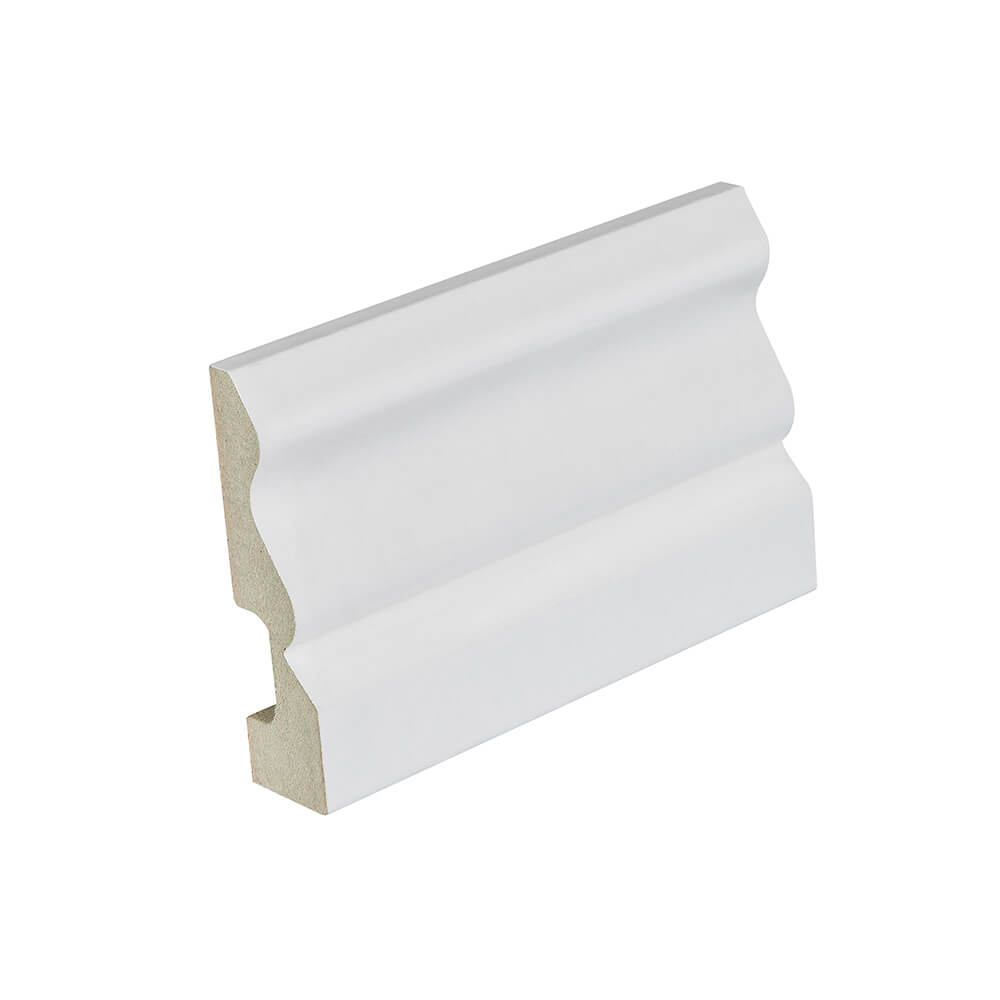 68mm White Ogee Architrave Skirting image